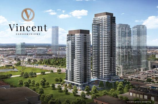Vincent Condominiums: In the Heart of Vaughan Metropolitan Centre